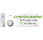NOBO C4E 20   (2000 W) elektromos fali fűtőpanel csom. sér. 35.