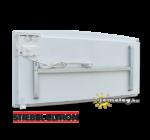 STIEBEL-ELTRON CNS SE 2500 W fűtőpanel hátulnézetben a gyári tartókerettel