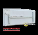 STIEBEL-ELTRON CNS SE 3000 W nagy teljesítményű elektromos fűtőtest hátulról a tartozék fali tartókerettel