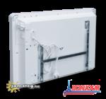 Bonjour 1000 W-os elektromos fűtőkészülék hátulról