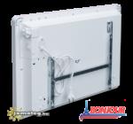 A Bonjour 1500 W elektromos radiátor hátulnézetből