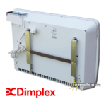 Dimplex PLX 1500 W elektromos konvektor hátulról