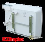 Dimplex PLX 1000 W elektromos fűtőkészülék hátulnézetből