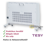 Tesy MC 20112 hordozható digitális vezérkésű infrapanel hátulról