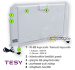 Tesy MC 2012 hordozható infrapanel hátulról