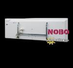 A NOBO NORDIC LIGHT  NFC4W  2000 W -os elektromos fűtőpanel hátulnézetben a tartozék fali tartókonzollal