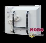 NOBO NORDIC LIGHT  NFC4W 500 W típusú norvég elektromos radiátor  hátulnézetben