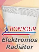Francia elektromos radiátor - Bonjour