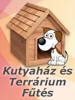 Kutyaház fűtés, terrárium fűtés infrapanel felszerelésével