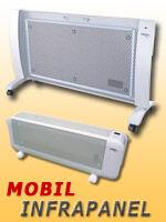 Mobil infrapanel - hordozható infrafűtés