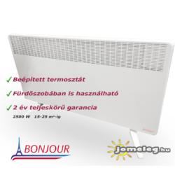 A Bonjour ErP 2500 W elektromos radiátor előlről
