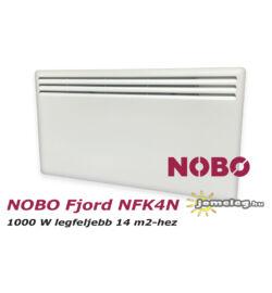 NOBO FJORD NFK4N 1000W-os fűtőpanel cserélhető vezérlővel