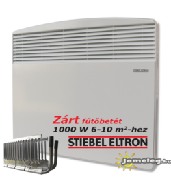 STIEBEL-ELTRON CNS SE 1000 W villanyradiátor előlnézetből