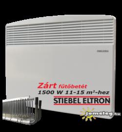 STIEBEL-ELTRON CNS SE 1500 W elektromos fűtőtest elölről