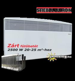 STIEBEL-ELTRON CNS SE 2500 W fűtőpanel elölnézetben