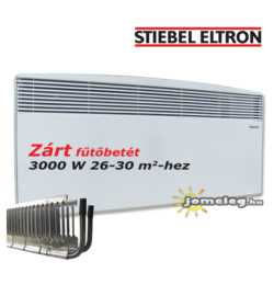 STIEBEL-ELTRON CNS SE 3000 W nagy teljesítményű elektromos fűtőtest előlről