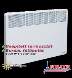 A Bonjour 1000 W elektromos fűtőkészülék előlről
