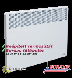 A Bonjour 1500 W elektromos radiátor előlről