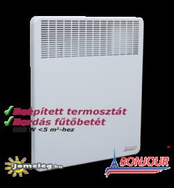 A Bonjour 500 W elektromos radiátor előlről