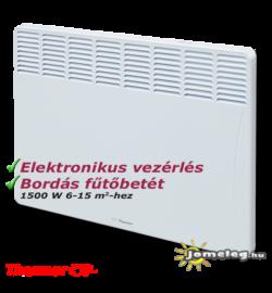 A Thermor Evidence 2 (1500 W) villanyradiátor frontoldala