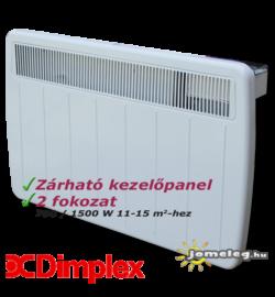 Dimplex PLX 1500 W elektromos konvektor előlről