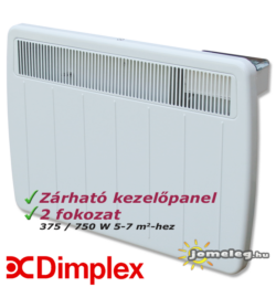 Dimplex PLX 750 W fűtőpanel elölről