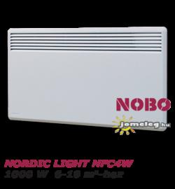 NOBO NORDIC LIGHT  NFC4W 1000 W típusú norvég villanyradiátor  6-10 nm-hez