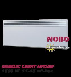NOBO NORDIC LIGHT  NFC4W  1500 W -os elektromos fűtőberendezés 11-15 m2-hez