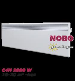 NOBO C4N 2000 W elektromos fűtőpanel  kivehető vezérlővel