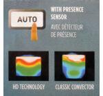 Thermor Soprano Sense2 ErP digitális elektromos radiátor 1000 W (új modell)