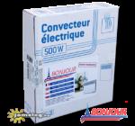 A Bonjour 500 W-os elektromos radiátor gyári csomagolásában