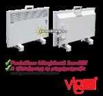 A Vigo 2000 W-os és 2500 W-os elektromos radiátor praktikus, kihajtható  hordfüllel és a gyári alaptartozékként szállított lábakkal