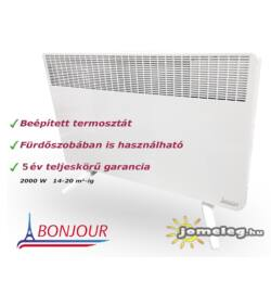 A Bonjour ErP 2000 W elektromos radiátor előlről