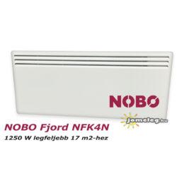 NOBO FJORD NFC4N 1250W-os fűtőpanel cserélhető vezérlővel