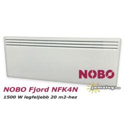 NOBO FJORD NFC4N 1500W-os fűtőpanel cserélhető vezérlővel