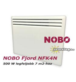 NOBO FJORD NFC4N 500W-os fűtőpanel cserélhető vezérlővel
