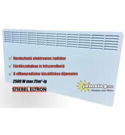 STIEBEL-ELTRON CNS SE 2000 W elektromos fűtőpanel előlnézetből