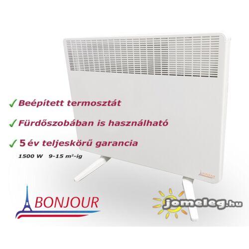 A Bonjour ErP 500 W elektromos radiátor előlről